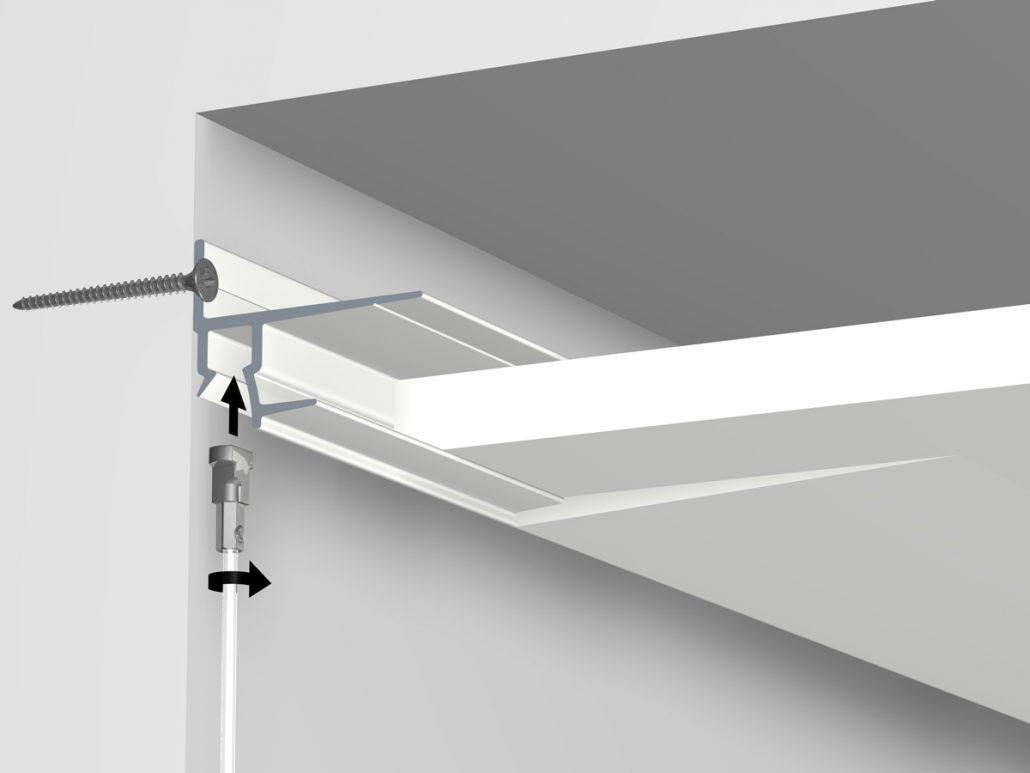 Inbouw schilderij-ophangsystemen van Artiteq - B+M