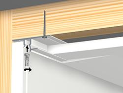 B+M shadowline-drywall-installatie