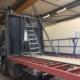 Carrosserie kraanwagen Baustoff + Metall