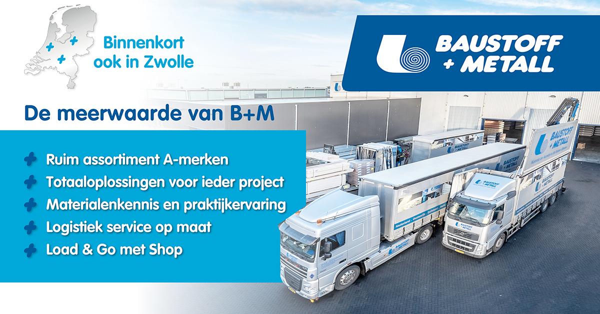 B+M opening vestiging Zwolle