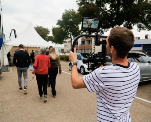 Cameraman opening Baustoff + Metall Zwolle