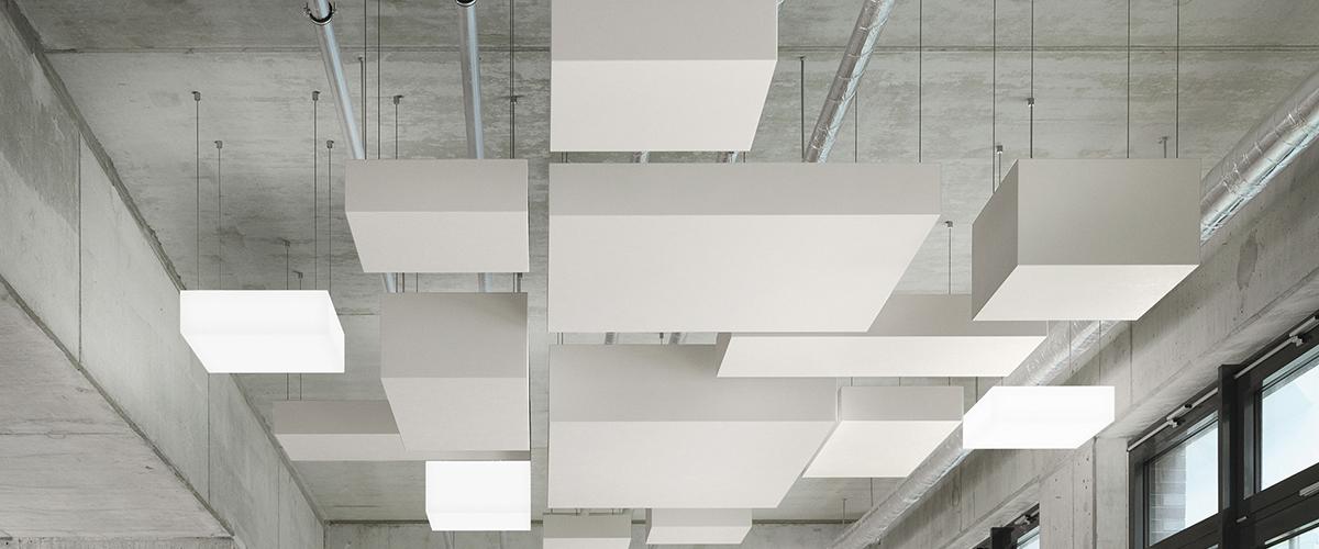Kubusvormig plafondeiland