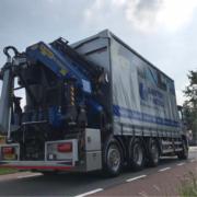 Nieuwe kraanwagen B+M Den Bosch