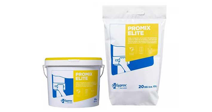 Gyproc Promix Elite filler en finisher kant-en-klare pasta