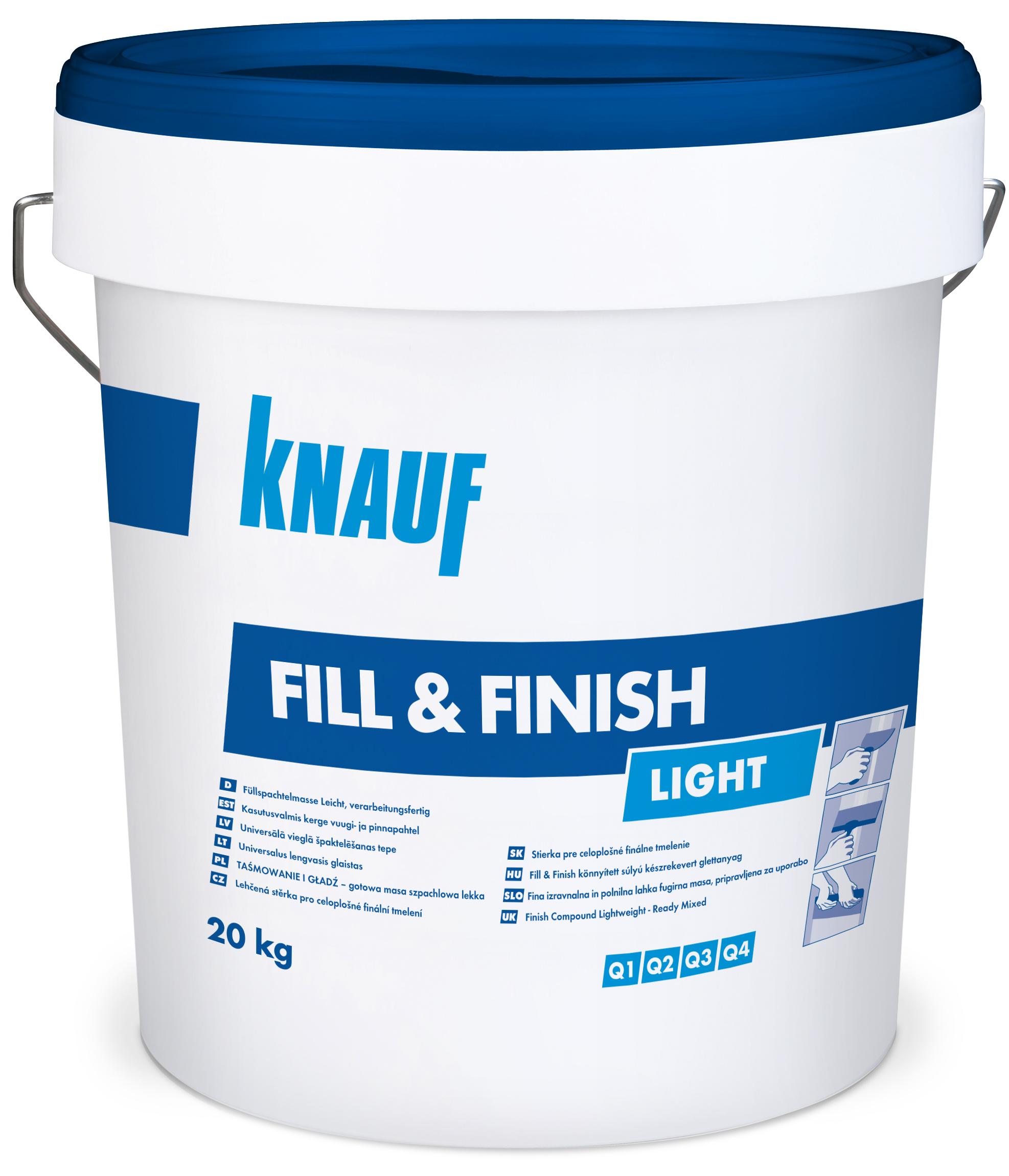 Knauf fill finish light