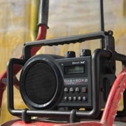Perfectpro bouwradio werkradio DAB+