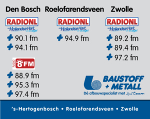 Radiofrequenties Baustoff + Metall