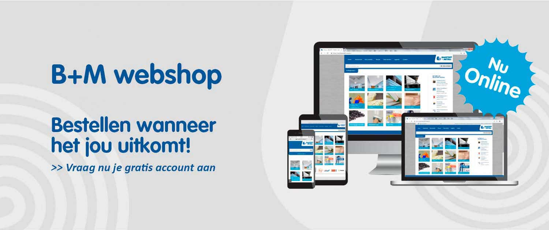 Webshop Baustoff + Metall nu online